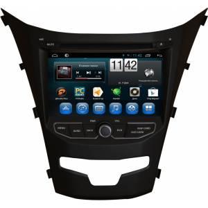CARMEDIA QR-7082 Головное устройство на Android 6.0.1 для Ssangyong Action New