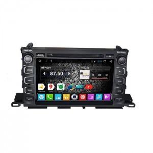 Штатное головное устройство DAYSTAR DS-7094HD ДЛЯ Toyota Highlander 2014+ ANDROID 6.0.1
