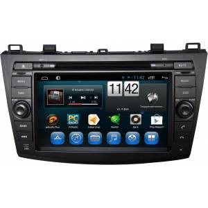 CARMEDIA QR-8018 Головное устройство на Android 6.0.1 для Mazda 3 2009-2013