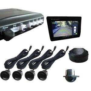 Парковочный радар с входом для камеры (Видеопарктроник) RPV-001