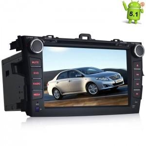 Штатная магнитола Toyota Corolla Android 5.1 + камера заднего вида