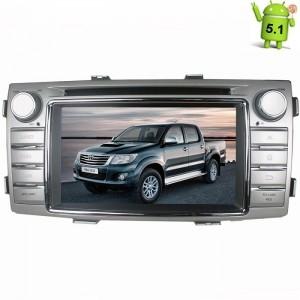 Штатная магнитола Toyota Hilux Android 5.1 + камера заднего вида