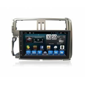 CARMEDIA QR-9034 Головное устройство на Android 6.0.1 для Toyota Prado 150 2009-2013