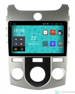 Штатная магнитола Parafar с IPS матрицей для Kia Cerato Forte 2007-2013 на Android 6.0  (PF279Lite)