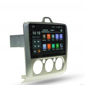 Штатная магнитола Parafar 4G/LTE с IPS матрицей для Ford Focus 2 2005-2011 (без климата) на Android 7.1.1 (PF695)