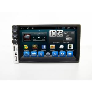 Carmedia QR-7098 Головное устройство на Android 6.0.1 2din deckless universal, no dvd