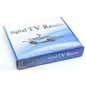 Цифровой тюнер DVB-T2 100 км/ч