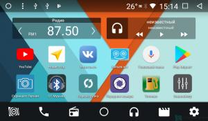 Штатная магнитола Parafar для Kia Soul 2 2014+ на Android 7.1.2 (PF526K)