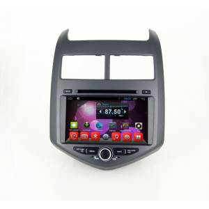 CARMEDIA QR-8066 Головное устройство на Android 6.0.1 для Chevrolet Aveo