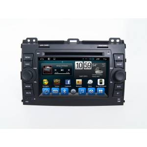 CARMEDIA QR-7095 Головное устройство на Android 6.0.1 для Toyota Prado 120