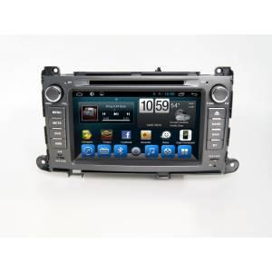 Carmedia QR-8086 Головное устройство на Android 6.0.1 для Toyota Sienna