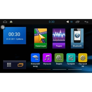 Штатная магнитола Kia Optima, K5 до 2013 года LeTrun 1748 Intel Android 5.1 экран 9 дюймов