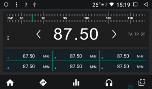 Штатная магнитола Parafar с IPS матрицей с DVD для Hyundai H1 Starex 2016+  на Android 7.1.2 (PF586K)