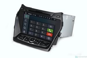 Штатная магнитола Parafar 4G/LTE для Hyundai Santa Fe 3 2012+ c DVD на Android 7.1.1 (PF209D)