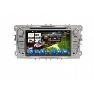 Carmedia QR-7012 Головное устройство на Android 6.0.1 для Ford серебро