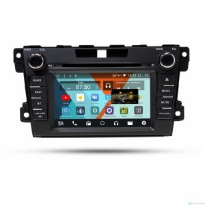 Штатная магнитола Parafar с IPS матрицей для Mazda CX-7 2008-2012 c DVD, поддержка BOSE на Android 8.1.0 (PF097KDVD)