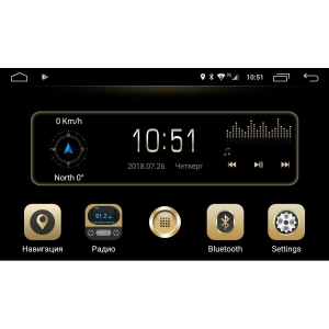 Штатная магнитола Hyundai Santa Fe с 2013 года, IX45 LeTrun 2336 Android 6.0.1 MTK 4G 8 ядер