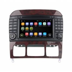 Carmedia KD-7217 Головное устройство на Android 5.1.1 (обновление до версии 7.1) для Mercedes S-класс 1998-2005 (W220)