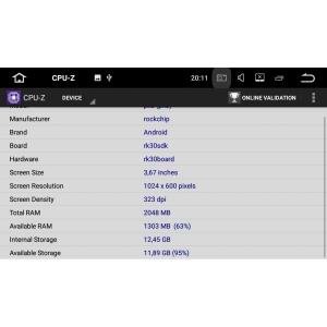 Штатная магнитола Chevrolet Cobalt LeTrun 2182 Android 7.1.1