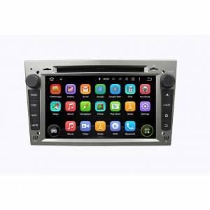 Carmedia KD-7408-s Головное устройство на Android 5.1.1 (обновление до версии 7.1) для Opel / Buick Astra H, Vectra С, Corsa D, Antara, Vivaro, Meriva, Zafira (серебро)
