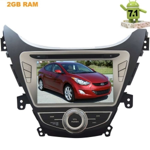 Штатная магнитола Hyundai Elantra, Avante 2011-2014 Android 7.1.1 LeTrun 2135