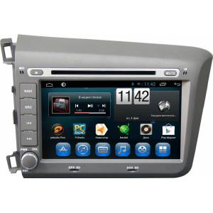 Carmedia QR-8006 Головное устройство на Android 6.0.1 для Honda Civic 9 Sedan/Coupe 2012-2013