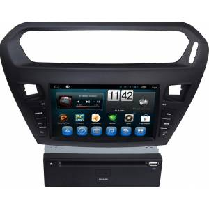 Carmedia QR-8041 Головное устройство на Android 6.0.1 для Peugeot 301 2013+, Citro?n C-Elys?e 2013+