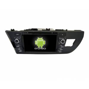 CARMEDIA QR-8090 Головное устройство на Android 6.0.1 для Toyota Corolla 2014+
