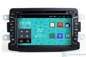 Штатная магнитола Parafar 4G/LTE для Renault Duster, Sandero, Logan, Kaptur, Lada X-Ray на Android 7.1.1 (PF157D)