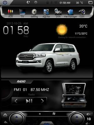 Carmedia NS-1070 Головное устройство на Android 5.1.1(обновление до версии 7.1) для Ford Mondeo 5 2015+