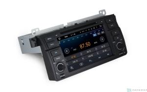 Штатная магнитола Parafar 4G/LTE для BMW E46 1998-2006с DVD на Android 7.1.1 (PF396D)