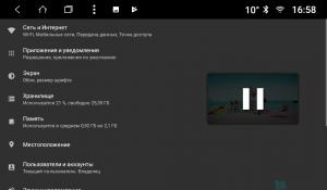 Штатная магнитола Parafar с IPS матрицей для Ford Escort на Android 8.1.0 (PF232K)