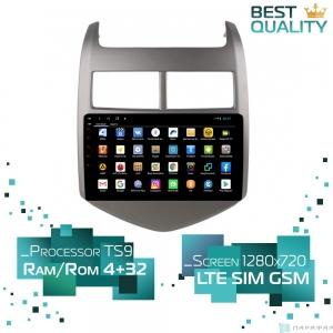 Штатная магнитола Parafar для Chevrolet Aveo 2011-2014 на Android 8.1.0 (PF992XHD)