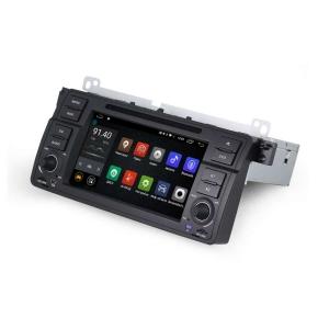 Штатная магнитола BMW X5 E53, 5-series E39 LeTrun 1475 Android 6.0.1 MTK 4G