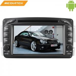 Штатная магнитола Mercedes C-W203, W209 (2000-2005),E-W210 Android 5.1 + камера заднего вида
