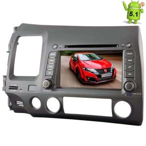 Штатная магнитола Honda Civic 2006-2011 Android 5.1 + камера заднего вида