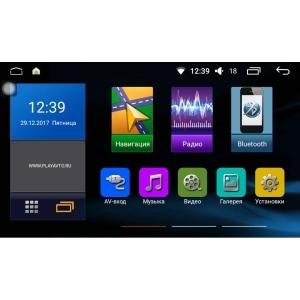 Штатная магнитола Hyundai Solaris с 2017 года LeTrun 2179 Intel Android 6.0 экран 9 дюймов