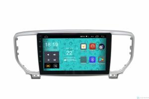 Штатная магнитола Parafar 4G-LTE с IPS матрицей для Kia Sportage 2018+ на Android 7.1.1 (PF577)