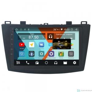 Штатная магнитола Parafar с IPS матрицей для Mazda 3 2009-2012 на Android 8.1.0 (PF034K)