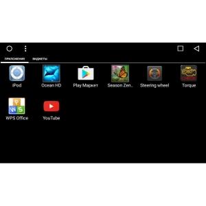 Штатная магнитола Mercedes ML, GL 2005-2012 LeTrun 1965 Android 6.0.1 экран 9 дюймов