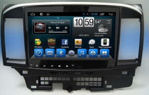 Штатное головное устройство Mitsubishi Lancer X 2007-2013 на Android 7.1 CARMEDIA KR-1049-T8