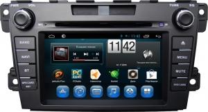 Штатное головное устройство MAZDA CX-7 2006-2012 (ER,ER2) дорестайл ирестайл на Android 7.1 CARMEDIA KR-7035-T8