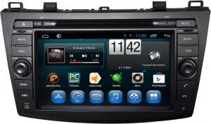 Штатное головное устройство Mazda 3 2009-2013 (BL), Axela 2009-2013 на Android 7.1 CARMEDIA KR-8018-T8