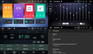 Штатное головное устройство для MITSUBISHI Lancer X 2007-2013 на Android 8.0 Carmedia KDO-8062