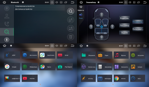 Штатное головное устройство для HYUNDAI Santa Fe 2012+ (DM), Grand Santa Fe 2014+ на Android 8.0 Carmedia KDO-9605