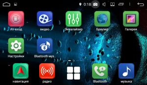 Универсальная магнитола FarCar s200 на Android 8.0.1 (V807)