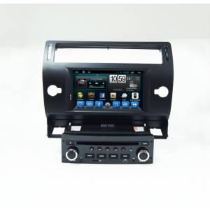 Carmedia QR-7066-b Головное устройство на Android 6.0.1 для Peugeot C4 2004-2011, C5 черный