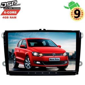 Штатная магнитола Volkswagen Polo, Jetta, Passat, Tiguan LeTrun 2809 Android 9.x DSP 6 ядер