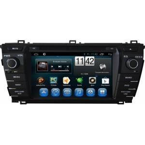 Carmedia QR-7071 Головное устройство на Android 6.0.1 для Toyota Corolla E180/E170 2013+