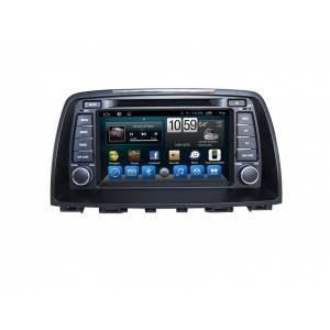 Carmedia QR-8074 Головное устройство на Android 6.0.1 для Mazda 6 2012-2014 с поддержкой всех штатных функций